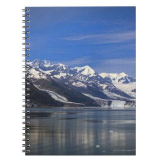 Harvard Glacier in College Fjord, Alaska Spiral Note Books