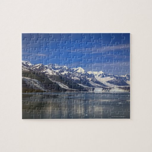 Harvard Glacier in College Fjord, Alaska Jigsaw Puzzle