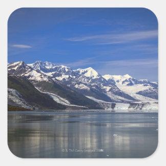 Harvard Glacier in College Fjord, Alaska Square Sticker
