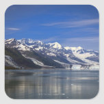 Harvard Glacier in College Fjord, Alaska Square Stickers