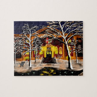 harvard in the snow jigsaw puzzle