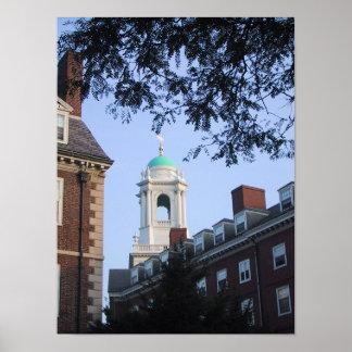 Harvard in the Spring Print