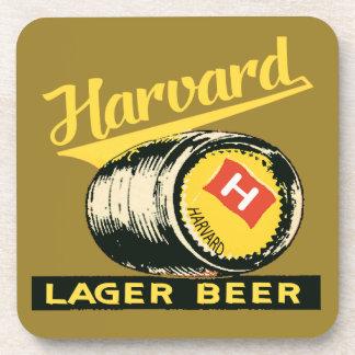 Harvard Lager Beer Drink Coaster