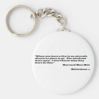 Harvard Man Mitt Keychain