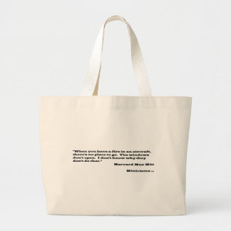Harvard Man Mitt Large Tote Bag