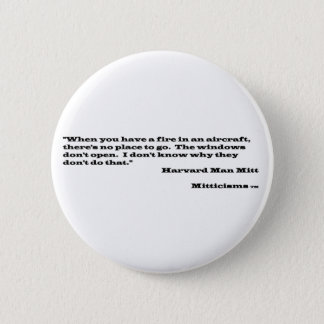 Harvard Man Mitt Pinback Button