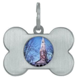 Harvard Memorial Chapel Pet ID Tag