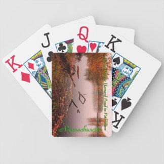 Harvard Pond in Petersham Massachusetts Cards