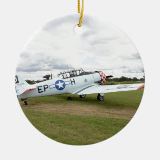 Harvard Trainer Double-Sided Ceramic Round Christmas Ornament