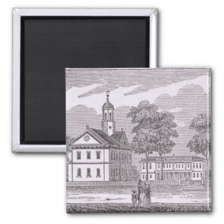 Harvard University, from 'Historical 2 Inch Square Magnet