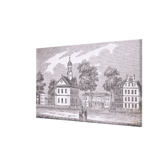 Harvard University, from 'Historical Canvas Print