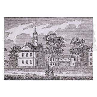 Harvard University, from 'Historical Card