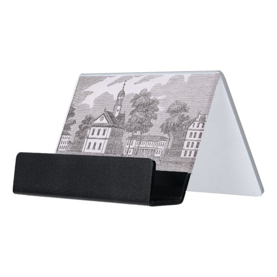 Harvard University From Historical Desk Business Card Holder