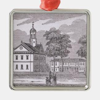Harvard University, from 'Historical Metal Ornament