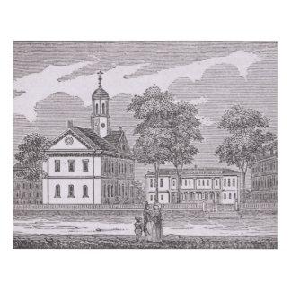 Harvard University, from 'Historical Panel Wall Art