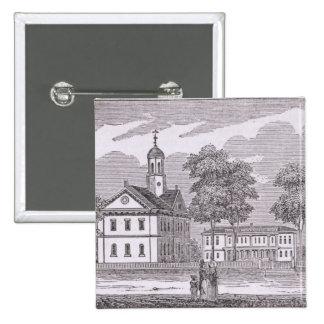 Harvard University, from 'Historical Pinback Button