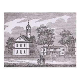 Harvard University, from 'Historical Postcard