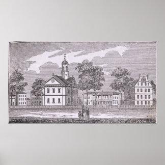 Harvard University, from 'Historical Poster