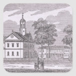 Harvard University, from 'Historical Square Sticker