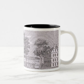 Harvard University, from 'Historical Two-Tone Coffee Mug