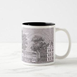 Harvard University, from 'Historical Two-Tone Coffee Mug