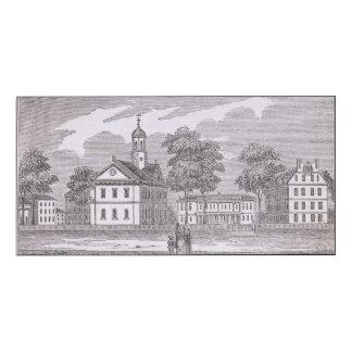 Harvard University, from 'Historical Wood Wall Art