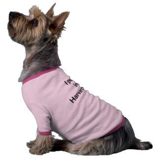 Harvard Yard Dog Ringer T (Fundraiser for Teldra) Dog Tee Shirt