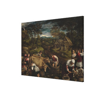 Harvest, , 1576 stretched canvas print