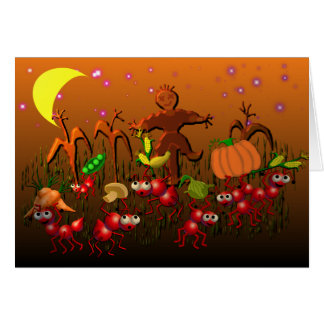 harvest ants greeting cards