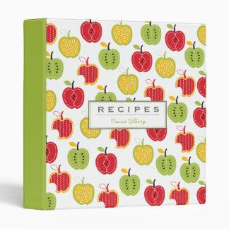 Harvest Apples Pattern Binder