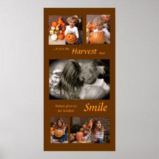 Harvest brown... poster