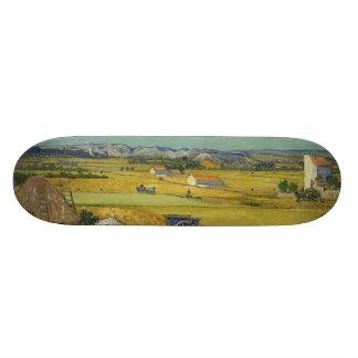 Harvest by Vincent Van Gogh Skate Board Deck