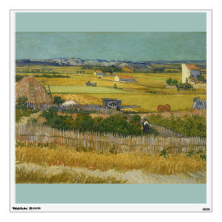 Harvest by Vincent Van Gogh Wall Decal