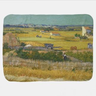 Harvest by Vincent Van Gogh Stroller Blanket