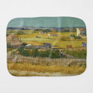 Harvest by Vincent Van Gogh Burp Cloth