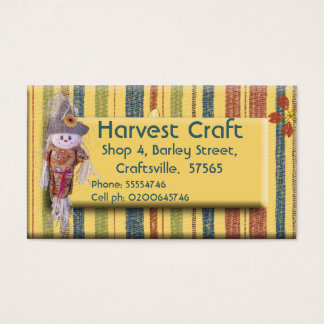 Harvest Craft Business Card ll