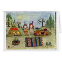 """Harvest Feast"" Card"