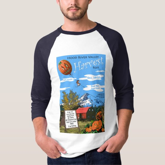 Harvest Fest Raglan T-Shirt