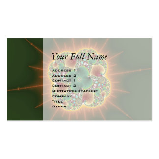 Harvest Festival - Abstract Art Double-Sided Standard Business Cards (Pack Of 100)
