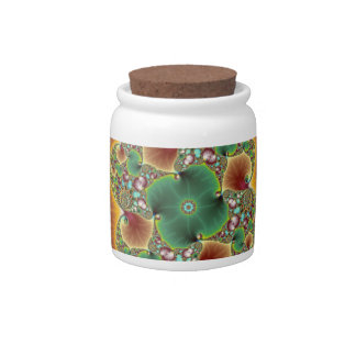 Harvest Festival - Abstract Art Candy Jars