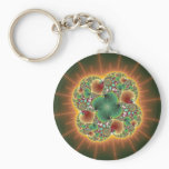 Harvest Festival - Abstract Art Keychain