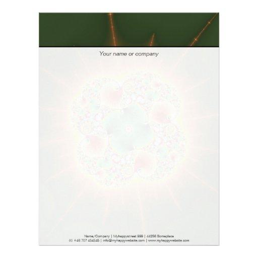 Harvest Festival - Abstract Art Customized Letterhead