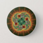 Harvest Festival - Abstract Art Pinback Button