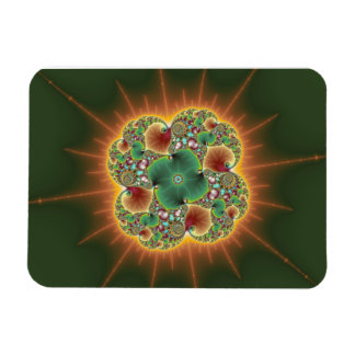 Harvest Festival - Abstract Art Rectangle Magnets