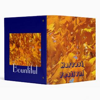 Harvest Festival binders Bountiful Golden Leaves