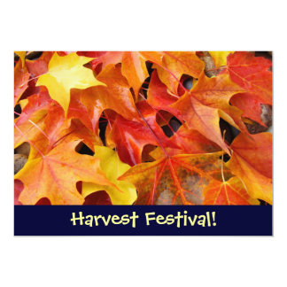 Harvest Festival! Invitations Event Announcements