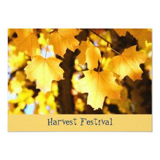 Harvest Festival! Invitations Fall Events School