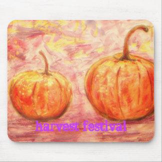 harvest festival mouse pad