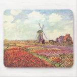 Harvest Fields - Monet Mousepads