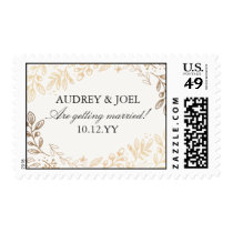 Harvest Flowers Wedding Postage